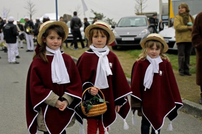 Foire Varades Enfants costumés 2b
