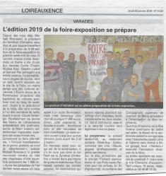 Presse janvier 2019